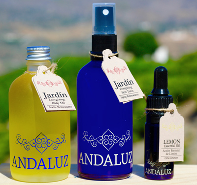 andaluz natural oil products small business in spain | Seeing Beauty