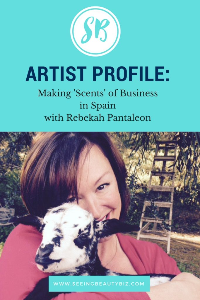 Andaluz turning her passion into a small business in spain   Seeing Beauty