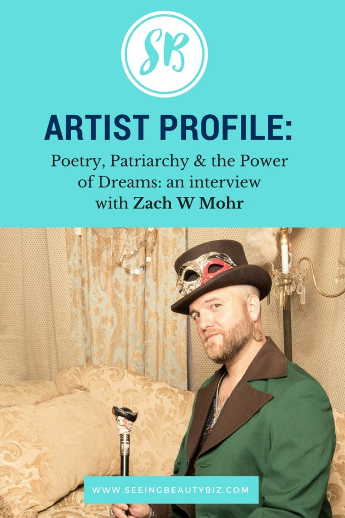 interview with creativepreneur zach mohr | seeing beauty